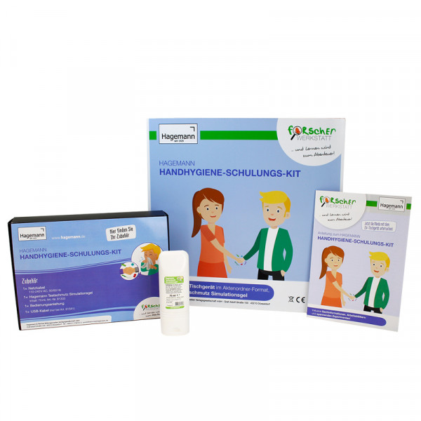 Hagemann Handhygiene-Schulungs-Kit, Multimediagerät