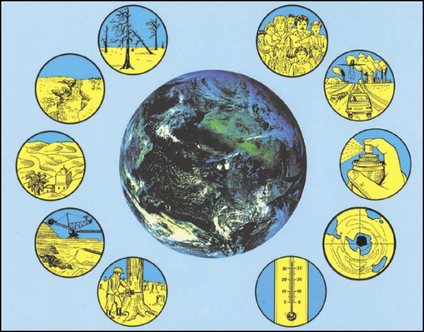 Transparente-Mappe Globale Ökologie - Restposten