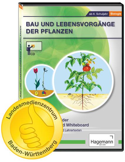 Interaktive Tafelbilder Bau und Lebensvorgänge der Pflanzen