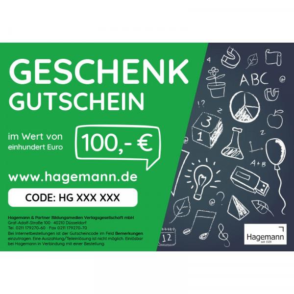 Hagemann Gutschein 100,00 EUR
