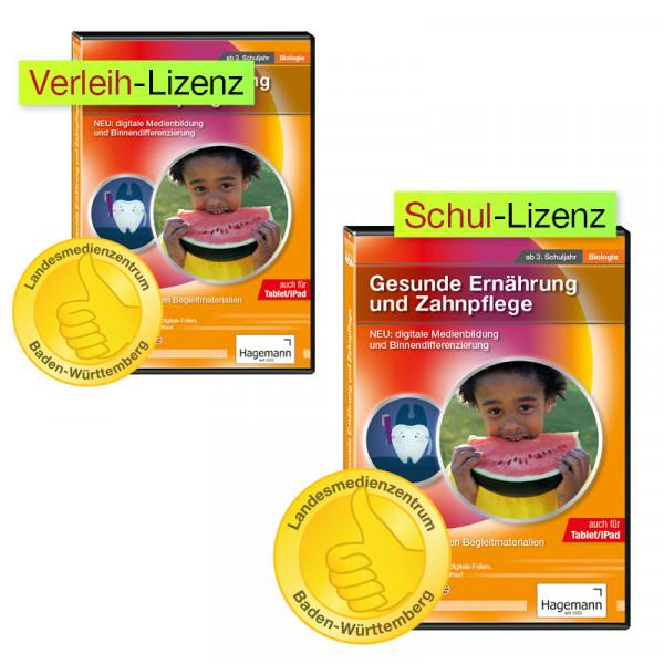 Didaktische DVD Gesunde Ernährung und Zahnpflege (tabletfähig)