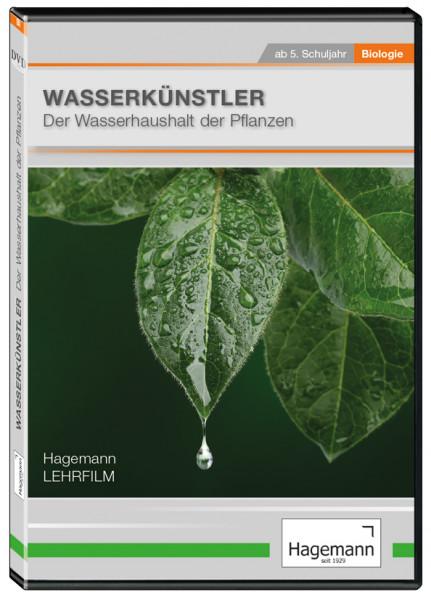 DVD-Lehrfilm Wasserkünstler-Der Wasserhaushalt der Pflanzen