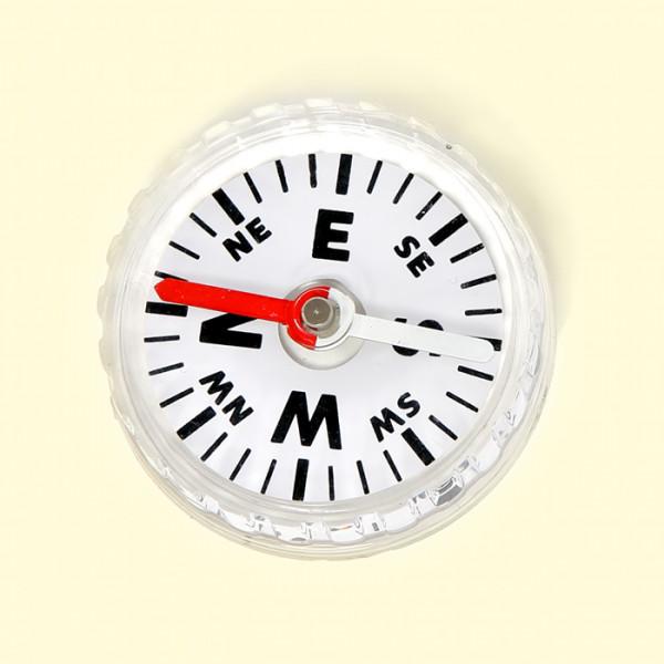 Kompass, klar, 4,5cm