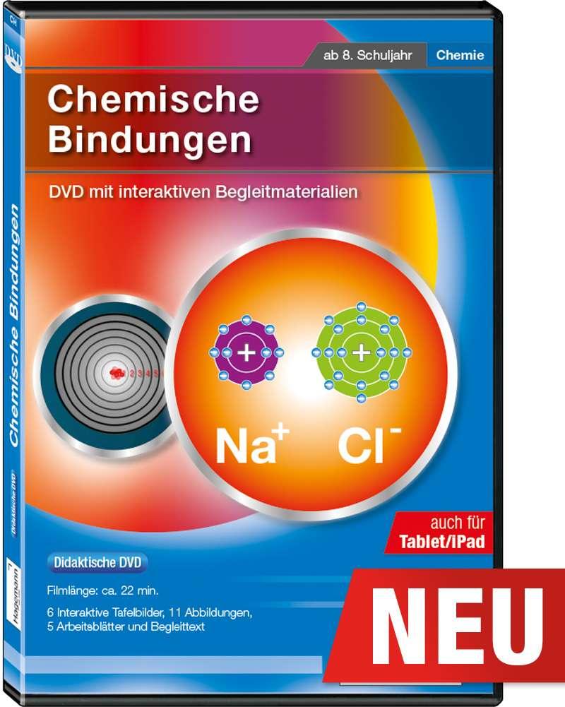 Didaktische DVD Chemische Bindungen (tabletfähig) | Hagemann