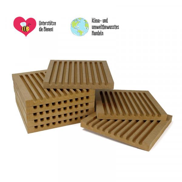 Set Erweiterungs-Nistbretter für pädagogischen Nistblock (8 Stck.)