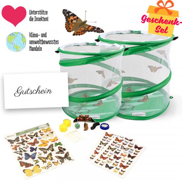 Hagemann Geschenkset Schmetterlinge, groß