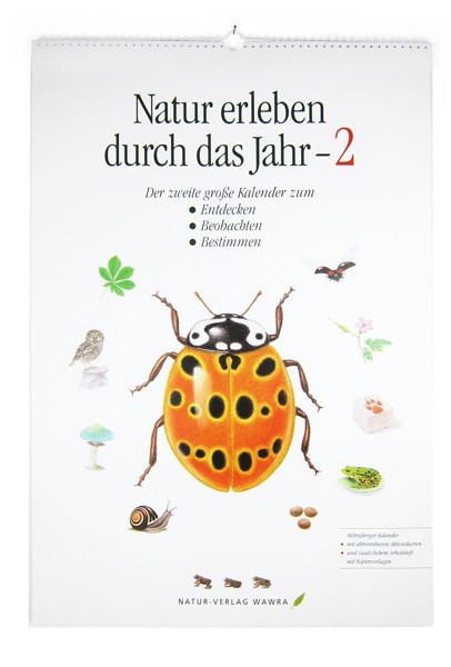 Großer Naturkalender 2 (mit Arbeitsmaterial)