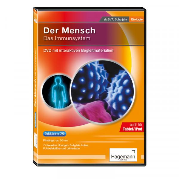 Didaktische DVD Der Mensch: Das Immunsystem (tabletfähig)