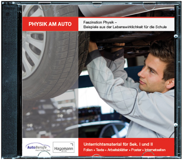 Unterrichts-Material, CD-ROM, Physik am Auto