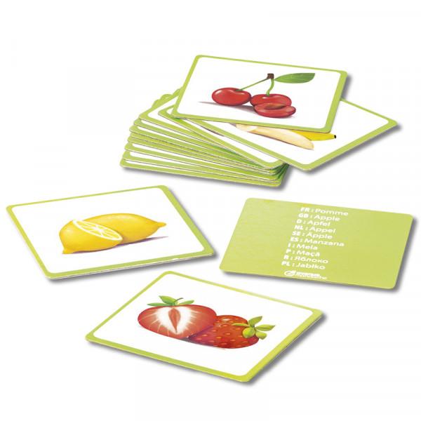 Bildkarten Früchte, 24-tlg.