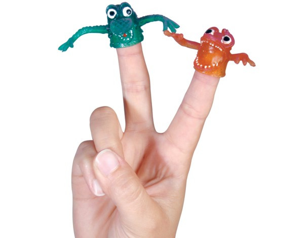 Fingermonster 5er Pack