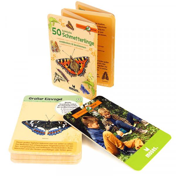 50 heimische Schmetterlinge entdecken und bestimmen