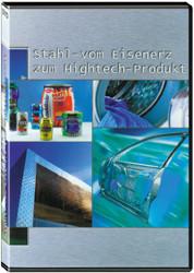 Unterrichts-Material, DVD, Stahl - vom Eisenerz zum Hightech-Produkt