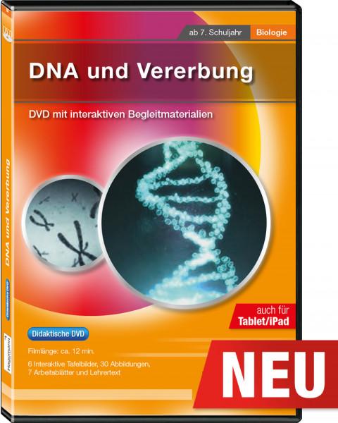 Didaktische DVD DNA und Vererbung (tabletfähig)