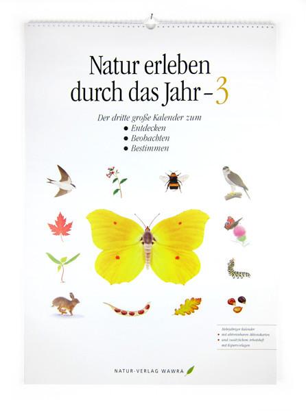 Großer Naturkalender 3 (mit Arbeitsmaterial)