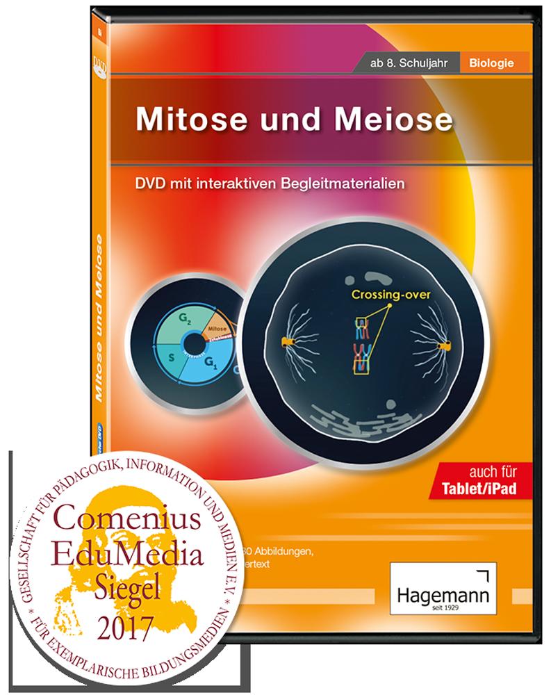 Didaktische DVD Mitose und Meiose (tabletfähig) | Hagemann