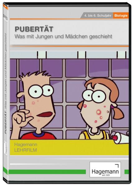 DVD-Lehrfilm Pubertät