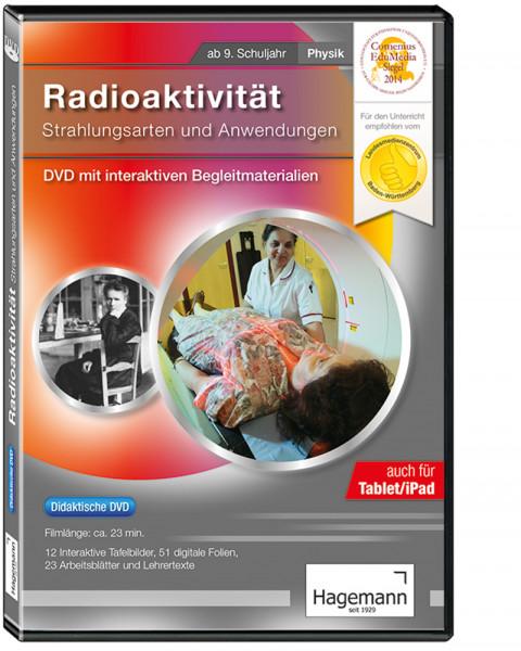 Didaktische DVD Radioaktivität - Strahlung und Anwendung (tabletfähig)