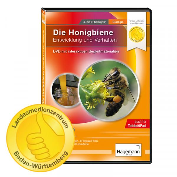 Didaktische DVD Die Honigbiene - Entwicklung und Verhalten (tabletfähig)