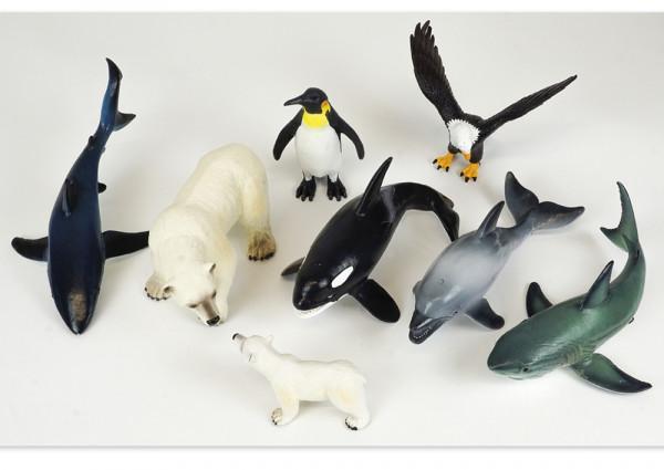 Set Meeres- und Küsten-Tiere, 9-tlg.