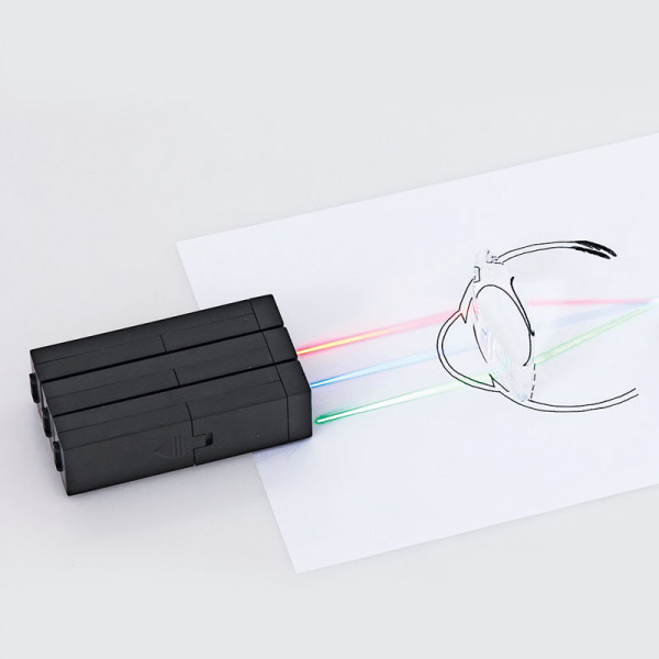 Schüler-Experimentier-Set: Sehfehler Box