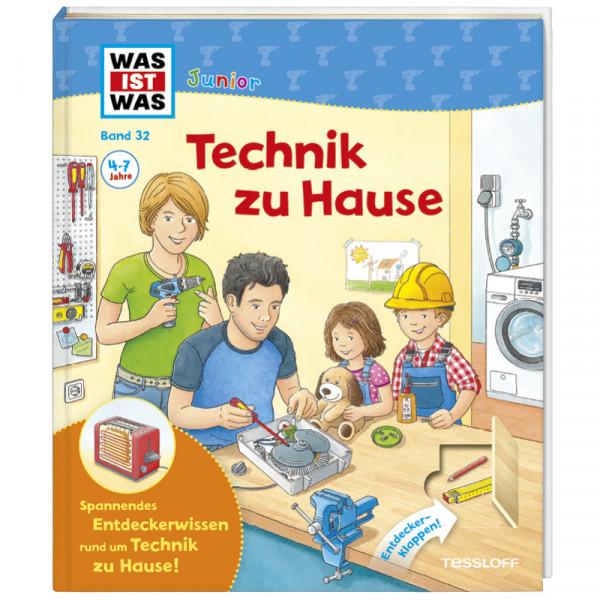 """WAS IST WAS Junior Band 32 """"Technik zu Hause"""", 20 Seiten"""