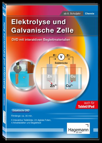 Didaktische DVD Elektrolyse (tabletfähig)