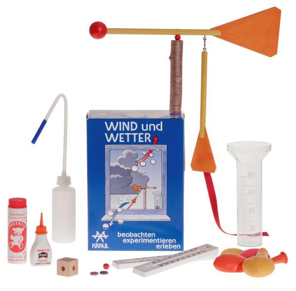 Wind und Wetter Experimentier-Set