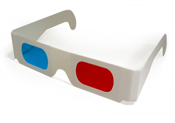 Hagemann 3D-Brille rot/cyan