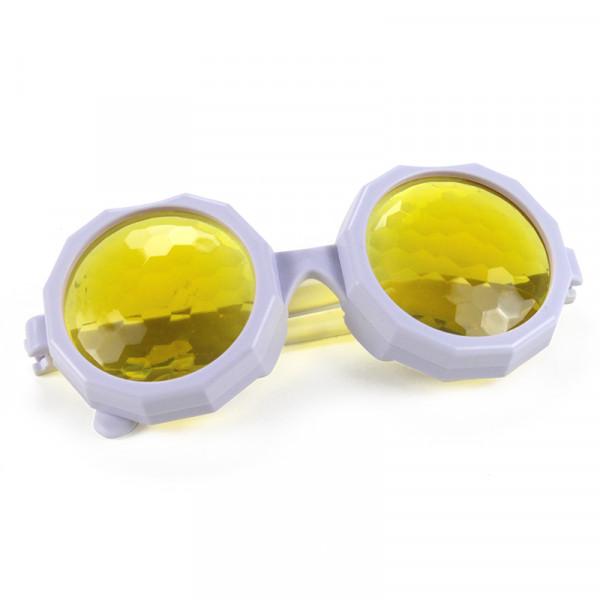 Facettenlinsen-Brille