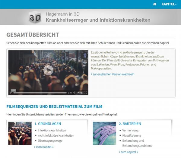 Didaktische DVD Hagemann in 3D Krankheitserreger und ...