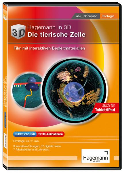 Didaktische DVD Hagemann in 3D – Die tierische Zelle (tabletfähig)