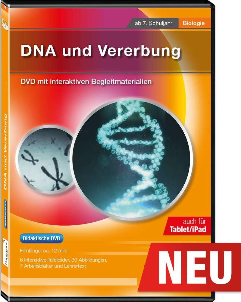 Didaktische DVD DNA und Vererbung (tabletfähig) | Hagemann