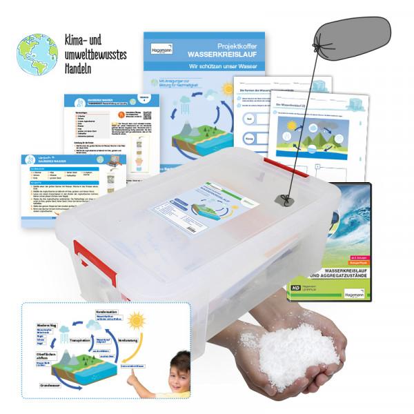Hagemann Projektkoffer Wasserkreislauf - Wir schützen unser Wasser