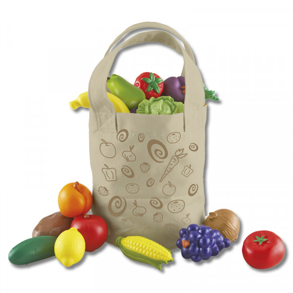 Markt-Tasche Obst und Gemüse, 17-tlg.