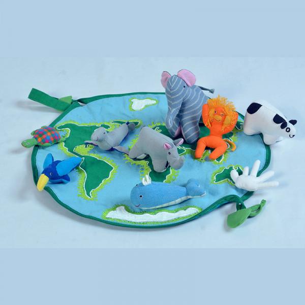 Play & Go: Rettet bedrohte Tiere-Spieltasche