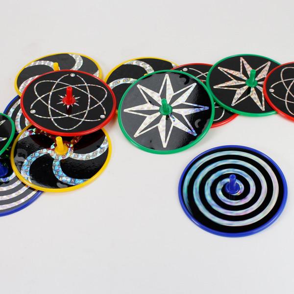 Laser Kreisel 12er Set