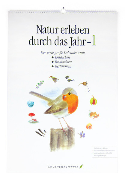 Großer Naturkalender 1 (mit Arbeitsmaterial)