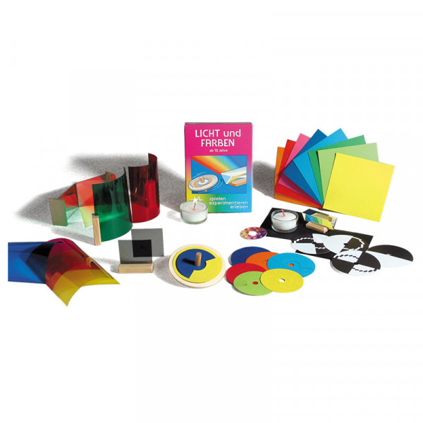 Licht und Farben Experimentier-Set
