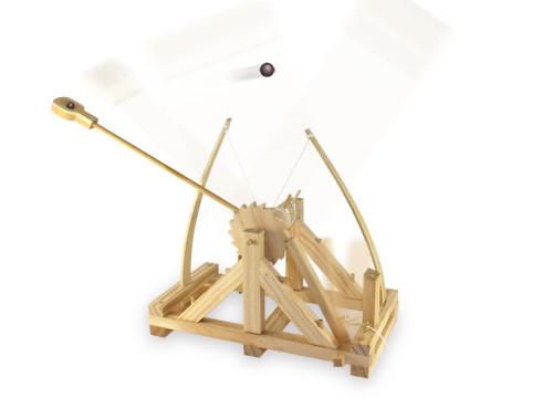 Da Vinci Katapult, Bausatz