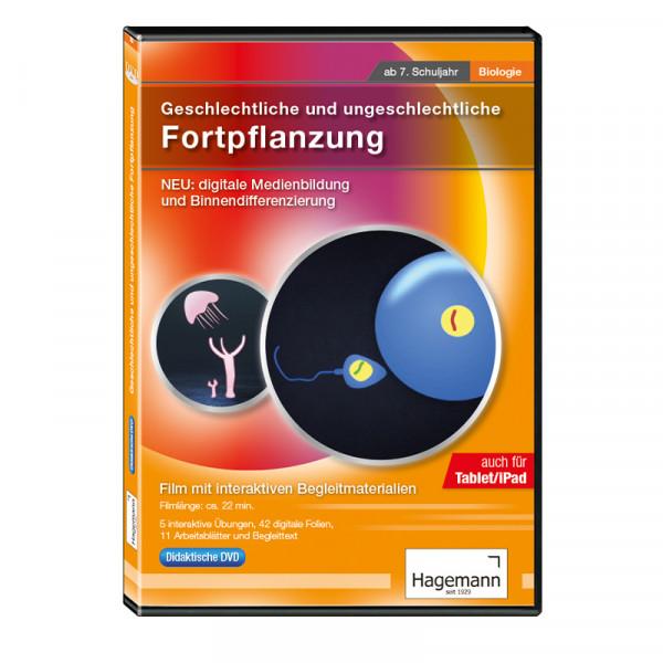 Didaktische DVD Geschlechtliche und ungeschlechtliche Fortpflanzung (tabletfähig)