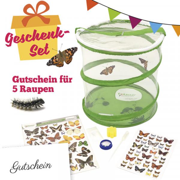 Hagemann Schmetterlings-Geschenk-Set, kompakt