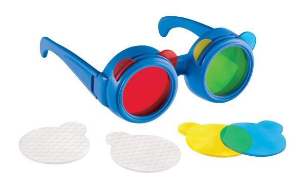 Farbmisch-Brille