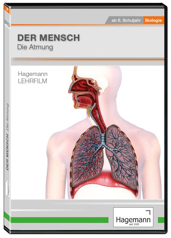 DVD-Lehrfilm Der Mensch: Die Atmung   Hagemann