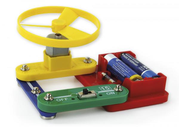 Elektro-Lernbaukasten, kompakt 80 Versuche