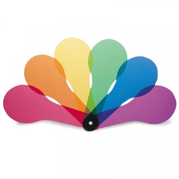 Farbmischscheiben mit Griff (18 Stk.)
